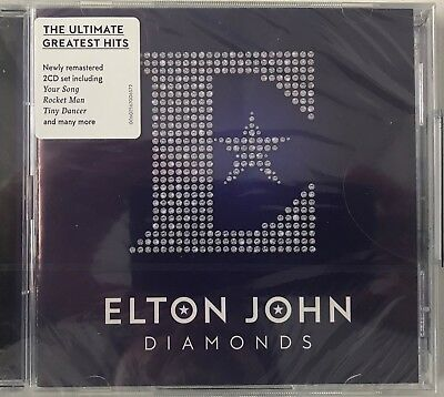 Elton John - Diamonds (GREATEST HITS/BEST OF) (2xCD) New Sealed Free P&P