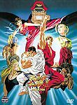 Street Fighter II V The Collection DVD, 2003, 4-Disc Set Rare with Poster VG++