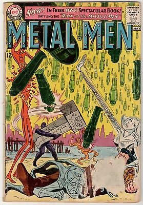 Metal Men #1, First issue, silver Age, DC Comics