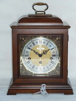 Howard Miller / Hermle Triple 3 Tune Westminster Chime Bracket Mantle Clock