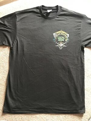 Alice Cooper 2018 A Paranormal Evening With Tour Local Crew T-shirt L Never Worn