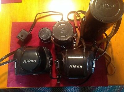 NIKON SLR 35mm Cameras and Lenses