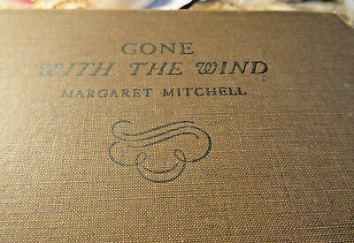 Gone with the Wind by Margaret Mitchell (1936) Vintage 1st Ed. 7th Printing
