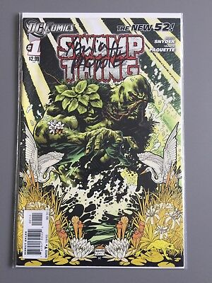 SWAMP THING ( Vol 5 ) # 1 A  -  SIGNED by Yanick Paquette
