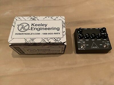 Keeley Dark Side Workstation V2 Effects Pedal