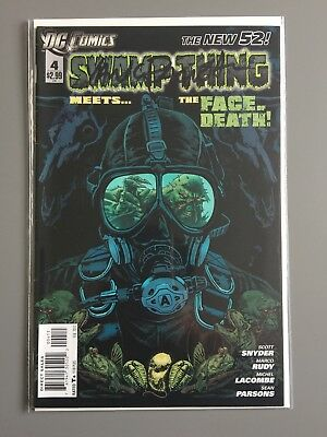 SWAMP THING ( Vol 5 ) # 4  -  SIGNED by Yanick Paquette