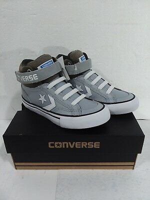 4dee8d5290e7 CONVERSE PRO BLAZE Strap hi top leather sneakers. Size 3 youth ...