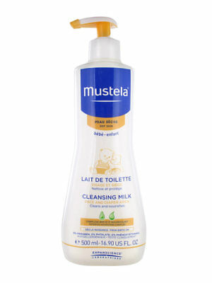 Mustela Face and Diaper Area Cleansing Milk 500ml