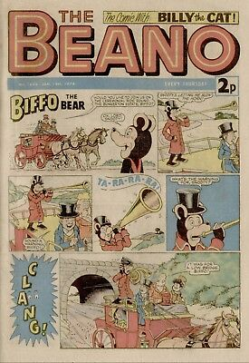 The Beano Comic #1644 January 19th 1974 - very good condition