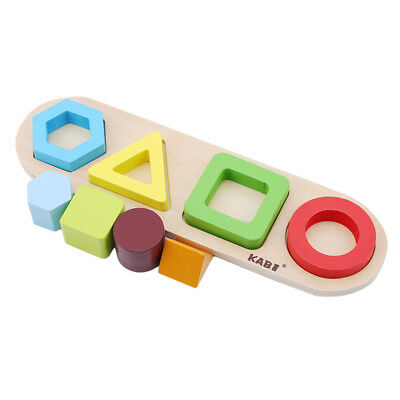 Colorful Geometric Shape Learning Sort Stacking Toys For Toddlers Kids one