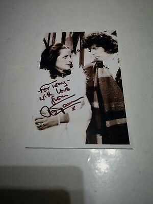 Mary Tamm Signed Photograph Doctor Who Romana