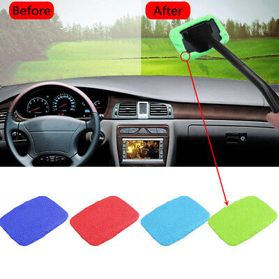 Washable Handy Windshield Wonder Car Window Glass Wiper Cleaner Cloth Cover pad