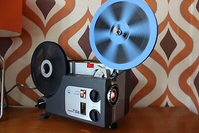 Sankyo 1000 Dual Super 8 8Mm Standard 8 Cine Tape Film Movie Projector Boxed