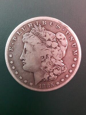 1885 S MORGAN SILVER DOLLAR - Please see pictures