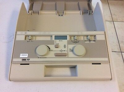 Used Portable Audiometer GSI 17  with Audiphones