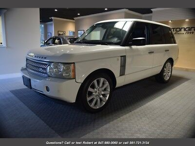 2007 Range Rover Supercharged Supercharged 4dr SUV 2007 Land Rover Range Rover Supercharged HSE White FL