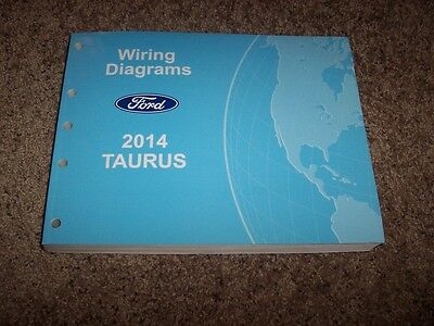 2014 ford taurus electrical wiring diagram manual se sel limited sho 2 0l  3 5l