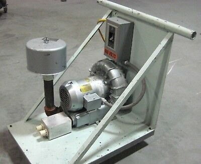 Gast R4310A-2 Regenerative Blower - 208-330/460 Volts, 3 Phase, 1HP, 3450 RPM