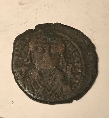 Maurice Tiberius 582–602 AD Ancient Roman Coin