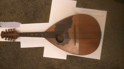Antique mandolin Rafaele Disantino circa 1902