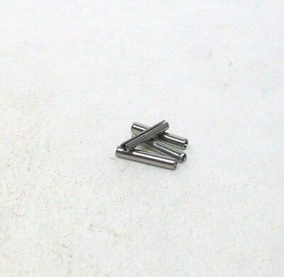 """Pack Of 240 New 1/16"""" X 3/8"""" 420 Stainless Steel Spring Roll Pins Slotted Nh"""