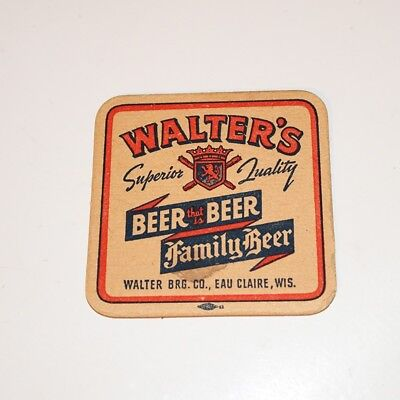 Walters' Family Beer Coaster