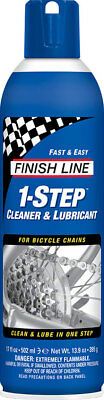Finish Line 1-Step Cleaner and Lubricant, 17oz Aerosol