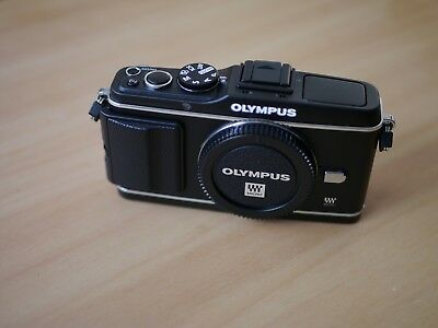 Olympus E-P3 Digital Camera Body m43 / microfourthirds - Very Low Shutter Count