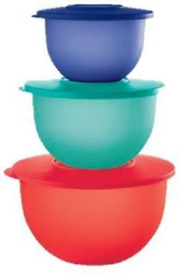 Tupperware - Classic Impressions Bowl Set - 2018 Colors - New - Free Shipping