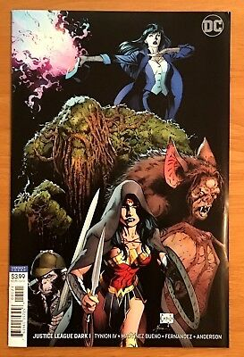 Justice League Dark 1 2018 B Variant Greg Capullo & Jonathon Glampion Cover  VF+