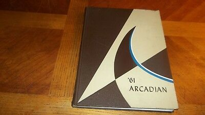 "1961 Arcadia High School (Arcadia,California) Yearbook ""Arcadian"""