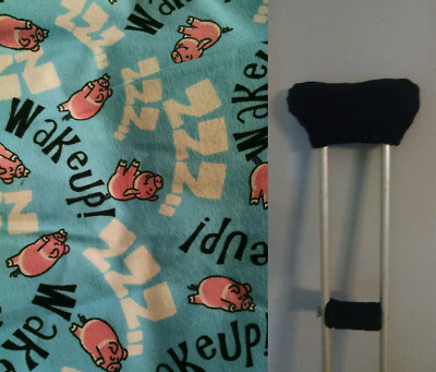 Pigs Crutch Covers Pads Crutches Cushion Padding Padded Pillows Accessories