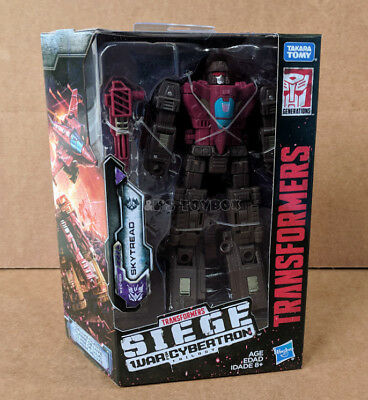 Transformers Generations War for Cybertron Skytread Deluxe Class G1 Siege MIB
