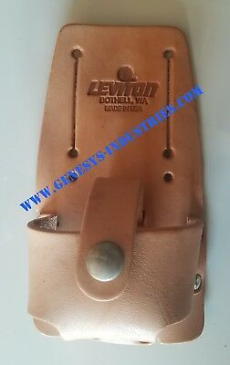 ✔ NEW LEVITON Leather Belt Holster For 49560-TTS Tone Generators  ✔