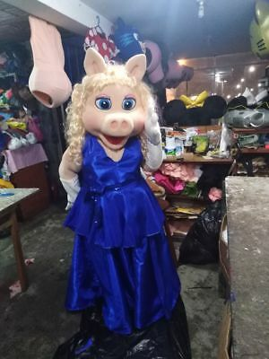 Miss Piggy Mascot Costume The Muppets Show Party Character Halloween Birthday
