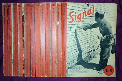 Signal magazine, Italian edition (D/I and I), 12 issues from 1943