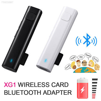 58C0 Portable Smart Instant Translator Bluetooth Real Time Learning Meeting Gift