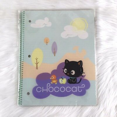 New Rare Vintage Sanrio Chococat Dream Collection College Ruled Spiral Notebook