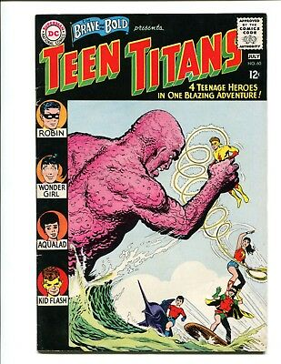 Brave and the Bold 60 6.0 F OW pgs 1st Donna Troy Teen Titans $295 OBO CGC it!!