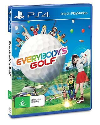 Everybody's Golf PlayStation 4 PS4 GAME BRAND NEW FREE POSTAGE Everybodys Golf