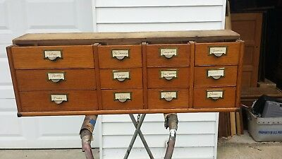 "Globe Wernicke 41 3/8"" 299 Grade 12 Drawer File Section (Early)"