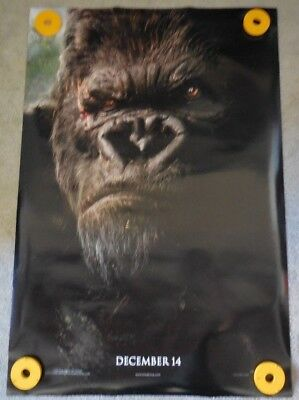 2005 KING KONG Advance Movie POSTER 27x40 Naomi WATTS 2 Sided Rolled