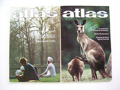 Air France Atlas Magazine Two Issues September 1977 and 1978