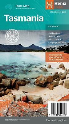 Tasmania State Map - Hema - Scale 1:480K | 3rd Edition 2014 | Waterproof