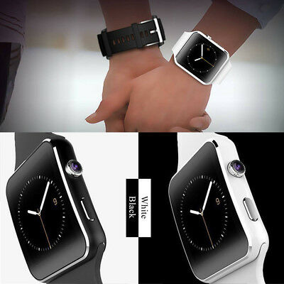 Waterproof X6 Smart Watch Bluetooth SIM Phone Camera For Android/iOS UK STOCK