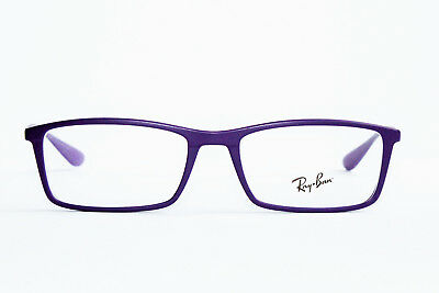 New Ray Ban Rb 7048 5443 Matte Violet Authentic Eyeglasses Rx 7048 53-17-145 Mm