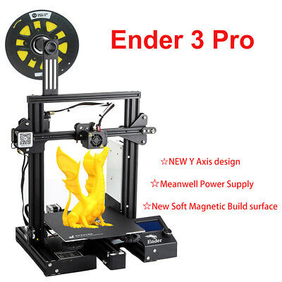 Creality Ender 3 Pro 3D Printer with Upgrade MeanWell Power Supply 220x220x250mm