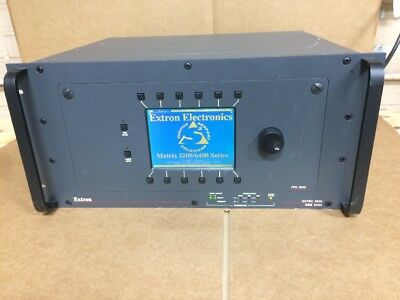 Extron Matrix 3200 FPC-1000 Wideband Video LCD Front Panel Controller Switcher