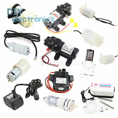 3V-12V DC Micro Submersible Motor Water Pump 3/5M 120L/H Useful US