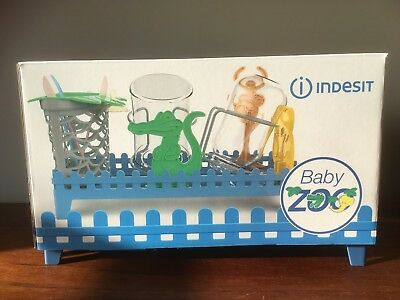 Indesit Dishwasher Baby Zoo Child Accessory Tray Holder Basket Brand New